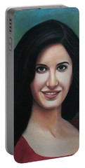 Katrina - The Beauty Of India Portable Battery Charger