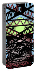 Katy Trail Bridge Portable Battery Charger by Christopher McKenzie