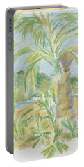 Kauai Palms Portable Battery Charger