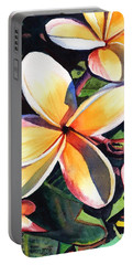 Kauai Rainbow Plumeria Portable Battery Charger