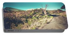 Kaupo Other Road To Hana Sunset Piilani Highway Maui Hawaii Portable Battery Charger by Sharon Mau