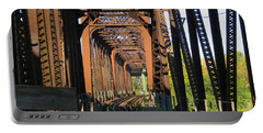 Kaw Point Railroad Bridge Portable Battery Charger