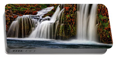 Portable Battery Charger featuring the photograph Kay Falls by Scott Mahon