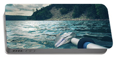Kayaking At Devils Lake Portable Battery Charger