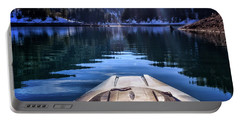 Kayaking In Mccloud Portable Battery Charger