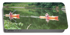 Kayaks On The River Portable Battery Charger