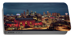 Kc Chiefs Skyline Portable Battery Charger