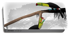 Keel-billed Toucans Portable Battery Charger