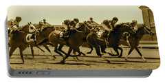 Keenland Sepia Portable Battery Charger by Dan Hefle