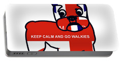 Keep Calm And Go Walkies Portable Battery Charger