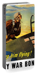 Keep Him Flying - Buy War Bonds  Portable Battery Charger