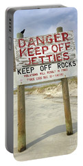 Keep Off Jetties Portable Battery Charger