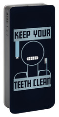 Keep Your Teeth Clean - Wpa Portable Battery Charger