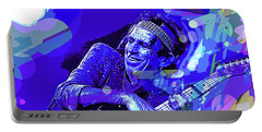 Keith Richards Blue Portable Battery Charger