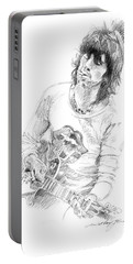 Keith Richards Exile Portable Battery Charger