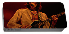 Keith Richards Mixed Media Portable Battery Charger