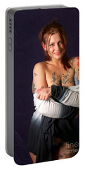 Kelsey Rose Portable Battery Charger by Sean Griffin