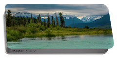 Portable Battery Charger featuring the photograph Kenai by Gary Lengyel