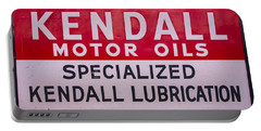 Kendall Motor Oils Sign Portable Battery Charger
