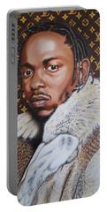 Kendrick Lamar X Louis Vuitton Monogram Painting Portable Battery Charger