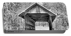 Keniston Covered Bridge  Portable Battery Charger by Betty Pauwels