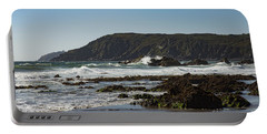 Portable Battery Charger featuring the photograph Kennack Sands by Brian Roscorla