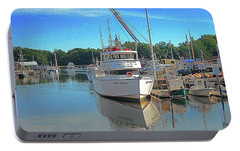 Portable Battery Charger featuring the photograph Kennebunk, Maine - 2 by Jerry Battle