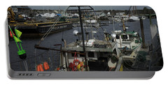 Kennebunkport Harbor In Early Winter Portable Battery Charger