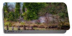Portable Battery Charger featuring the photograph Kennetpans Distillery Ruins by Jeremy Lavender Photography