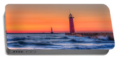 Kenosha Lighthouse Dawn Portable Battery Charger