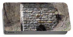 Kent Iron Furnace Portable Battery Charger by Catherine Gagne