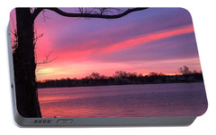 Portable Battery Charger featuring the photograph Kentucky Dawn by Sumoflam Photography