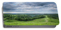Kentucky Hills And Clouds Portable Battery Charger