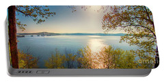 Portable Battery Charger featuring the photograph Kentucky Lake by Ricky L Jones