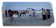 Kenya Wedding On Beach 2 With Maasai Portable Battery Charger