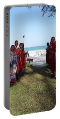 Kenya Wedding On Beach Maasai Bridal Welcome Portable Battery Charger
