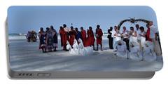 Kenya Wedding On Beach With Maasai Portable Battery Charger