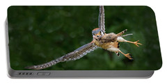 Kestrel With Prey Portable Battery Charger