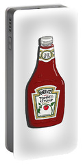 Ketchup Portable Battery Charger by George Pedro