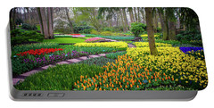 Keukehof Botanic Garden 2015 Portable Battery Charger by Jenny Rainbow