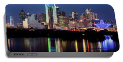 Jerry's Dallas Skyline Portable Battery Charger