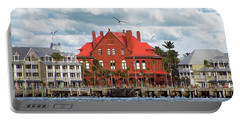 Portable Battery Charger featuring the photograph Key West Custom House by Bob Slitzan