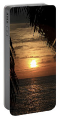 Key West Palm Sunset 2 Portable Battery Charger