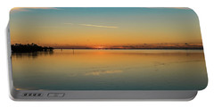 Portable Battery Charger featuring the photograph Key West Sunrise 46 by Bob Slitzan