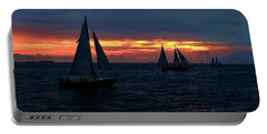 Key West Sunset - Ships Portable Battery Charger