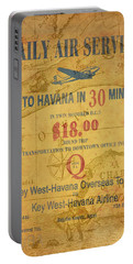 Key West To Havana Portable Battery Charger