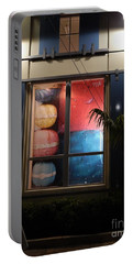Key West Window Portable Battery Charger by Expressionistart studio Priscilla Batzell