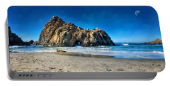 Portable Battery Charger featuring the photograph Keyhole Rock At Pheiffer Beach #14 - Big Sur, Ca by Jennifer Rondinelli Reilly - Fine Art Photography