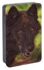 Portable Battery Charger featuring the photograph Keyni by Brian Cross