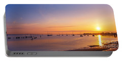 Keyport Harbor Sunrise  Portable Battery Charger